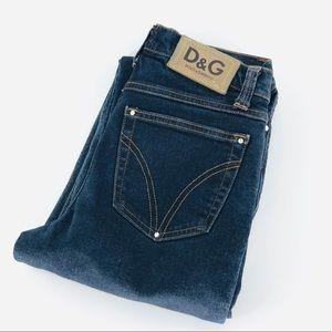 D&G crop Jeans. Size 27.